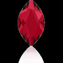 Swarovski Crystal Flatback Hotfix 2201 Marquise Flat Back (14.00x6.00mm) - Scarlet (F) -  72 Pcs