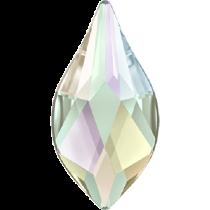 Swarovski Crystal Flatback Hotfix 2205 Flame Flat Back (7.50 mm) - Crystal Aurore Boreale (F) -  288 Pcs