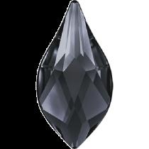 Swarovski Crystal Flatback Hotfix 2205 Flame Flat Back (10 mm) - Crystal Silver Night (F) -  144 Pcs