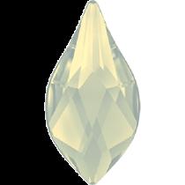Swarovski Crystal Flatback Hotfix 2205 Flame Flat Back (10 mm) - White Opal (F) -  144 Pcs