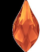 Swarovski Crystal Flatback No Hotfix 2205 Flame Flat Back (10 mm) - Fireopal (F) -  144 Pcs