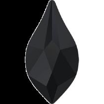 Swarovski Crystal Flatback No Hotfix 2205 Flame Flat Back (10 mm) - Jet  (F) -  144 Pcs