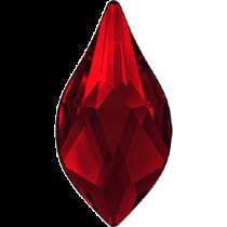 Swarovski Crystal Flatback No Hotfix 2205 Flame Flat Back (10 mm) - Light Siam (F) -  144 Pcs