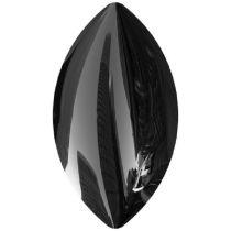 Swarovski Crystal Pearl Flat back Hotfix Navette Cabochon 2208/4 MM 10,0X 5,5 JET