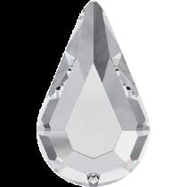 Swarovski Crystal Flatback No Hotfix 2300 Drop Flat Back (10.00x6.00mm) - Crystal (F) - 360 Pcs