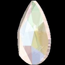 Swarovski Crystal Flatback Hotfix 2303 Pear Flat Back (8.00x5.00mm) - Crystal Aurore Boreale (F) - 144 Pcs