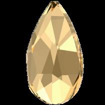 Swarovski Crystal Flatback Hotfix 2303 Pear Flat Back (8.00x5.00mm) - Crystal Golden Shadow (F) - 144 Pcs