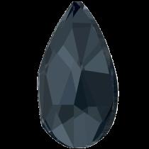 Swarovski Crystal Flatback Hotfix 2303 Pear Flat Back (14.00x9.00mm) - Graphite (F) - 72 Pcs