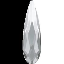 Swarovski Crystal Flatback No Hotfix 2303 Pear Flat Back (8.00x5.00mm) - Crystal (F) - 144 Pcs