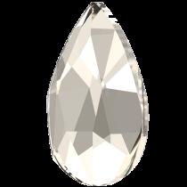 Swarovski Crystal Flatback No Hotfix 2303 Pear Flat Back (8.00x5.00mm) - Crystal Silver Shade (F) - 144 Pcs