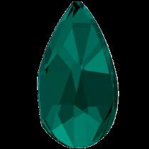 Swarovski Crystal Flatback No Hotfix 2303 Pear Flat Back (14.00x9.00mm) - Emerald (F) - 72 Pcs