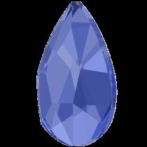 Swarovski Crystal Flatback No Hotfix 2303 Pear Flat Back (14.00x9.00mm) - Sapphire (F) - 72 Pcs