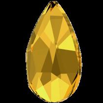 Swarovski Crystal Flatback No Hotfix 2303 Pear Flat Back (8.00x5.00mm) - Sunflower (F) - 144 Pcs