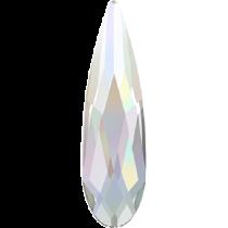 Swarovski Crystal Flatback Hotfix 2304 Raindrop Flat Back (10.00x2.80mm) - Crystal Aurore Boreale (F) - 180 Pcs