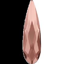 Swarovski Crystal Flatback No Hotfix 2304 Raindrop Flat Back (10.00x2.80mm) - Blue Rose (F) - 180 Pcs
