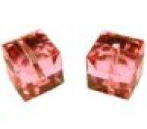 Swarovski Cubes (5601)6 mm- Rose