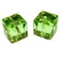 Swarovski Cubes(5601) - 6 mm -Peridot