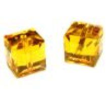 Swarovski Cubes(5601) - 6 mm -Topaz