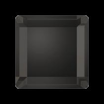 Swarovski Crystal Flat Back Hotfix 2402 Base Flat Back (6 mm) - Crystal Silver Night (F) - 144 Pcs