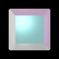 Swarovski Crystal Flat Back No Hotfix 2402 Base Flat Back (6 mm) - Crystal Aurore Boreale (F) - 144 Pcs