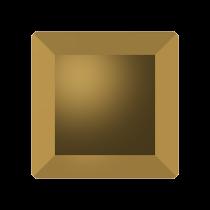 Swarovski Crystal Flat Back No Hotfix 2402 Base Flat Back (6 mm) - Crystal Dorado(F) - 144 Pcs