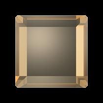 Swarovski Crystal Flat Back No Hotfix 2402 Base Flat Back (6 mm) - Crystal Golden Shadow  (F) - 144 Pcs