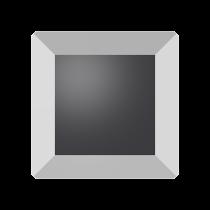Swarovski Crystal Flat Back No Hotfix 2402 Base Flat Back (6 mm) - Crystal Light Chrome (F) - 144 Pcs