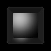 Swarovski Crystal Flat Back No Hotfix 2402 Base Flat Back (6 mm) - Jet (F) - 144 Pcs