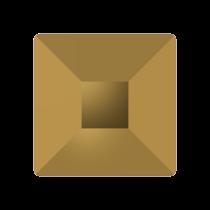 Swarovski Crystal Flat Back  Hotfix 2403 Pyramid Flat Back (6 mm) - Crystal Dorado(F) - 144 Pcs