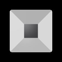 Swarovski Crystal Flat Back  Hotfix 2403 Pyramid Flat Back (6 mm) - Crystal Light Chrome (F) - 144 Pcs