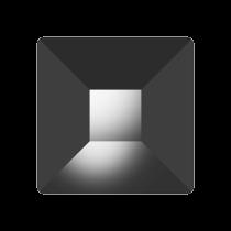 Swarovski Crystal Flat Back  Hotfix 2403 Pyramid Flat Back (6 mm) - Jet Hematite (F) - 144 Pcs
