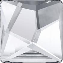 Swarovski Crystal Flat Back No Hotfix 2420 Asymmetric Square Flat Back (25 mm) - Crystal Comet Argent Light V SI (F) - 32Pcs