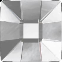Swarovski Crystal Flat Back No Hotfix 2483 Classic Square Flat Back (25 mm) - Crystal Comet Argent Light V SI (F) - 32 Pcs