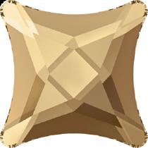 Swarovski Crystal Flat Back Hotfix 2494 Starlet Flat Back (8 mm) - Crystal Golden Shadow (F) - 144 Pcs