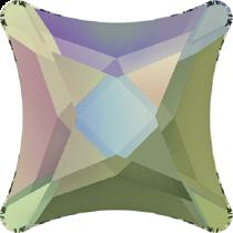 Swarovski Crystal Flat Back Hotfix 2494 Starlet Flat Back (6 mm) - Crystal Paradise Shine (F) - 220 Pcs