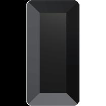 Swarovski Crystal Flat Back Hotfix 2510 Baguette Flat Back (5.00x2.50mm) - Jet (F) - 720 Pcs