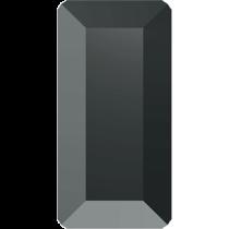 Swarovski Crystal Flat Back Hotfix 2510 Baguette Flat Back (5.00x2.50mm) - jet Hematite (F) - 720 Pcs