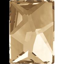 Swarovski Crystal Flat Back No Hotfix 2520 Cosmic Flat Back (14.00x10.00mm) - Crystal Golden Shadow (F) - 144 Pcs