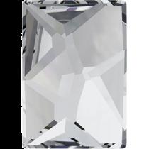 Swarovski Crystal Flat Back No Hotfix 2520 Cosmic Flat Back (14.00x10.00mm)- Crystal (F) - 144 Pcs