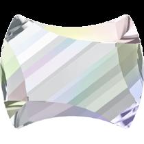 Swarovski Crystal Flat Back No Hotfix 2540 Curvy Flat Back (7.00x5.50mm) - Crystal Aurore Boreale (F) - 240 Pcs