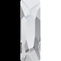 Swarovski Crystal Flat Back Hotfix 2555 Cosmic Flat Back (15.00x5.00mm)- Crystal (F) - 72 Pcs