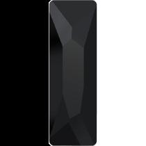 Swarovski Crystal Flat Back No Hotfix 2555 Cosmic Flat Back (15.00x5.00mm) - Jet (F) - 72 Pcs