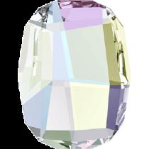 Swarovski Crystal Flat Back No Hotfix 2585 Graphic Flat Back (10 mm) - Crystal Aurore Boreale (F) - 288 Pcs
