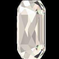 Swarovski Crystal Flatback Hotfix 2602 Emerald Cut Flat Back (14.00x10.00 mm) - Crystal Silver Shade (F) - 72 Pcs
