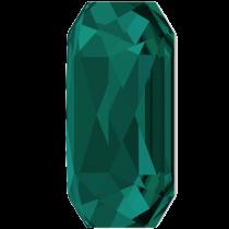 Swarovski Crystal Flatback Hotfix 2602 Emerald Cut Flat Back (14.00x10.00 mm) - Emerald (F) - 72 Pcs