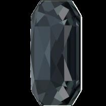 Swarovski Crystal Flatback Hotfix 2602 Emerald Cut Flat Back (14.00x10.00 mm) - Graphite (F) - 72 Pcs