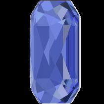 Swarovski Crystal Flatback Hotfix 2602 Emerald Cut Flat Back (8.00x5.50 mm) - Sapphire (F) - 144 Pcs
