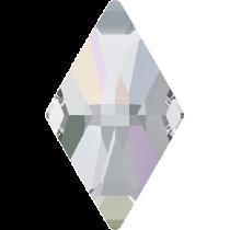 Swarovski Crystal Flat Back Hotfix 2709 Rhombus Flat Back (10.00x6.00mm) - Crystal Aurore Boreale (F) - 288 Pcs