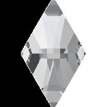 Swarovski Crystal Flat Back No Hotfix 2709 Rhombus Flat Back (13.00x8.00mm) - Crystal (F) - 216 Pcs