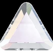 Swarovski Crystal Flat Back Hotfix 2711 Triangle Flat Back (6mm) - Crystal Aurore Boreale (F) - 360 Pcs